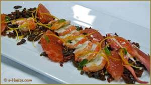 Salade de Homard aux Olives