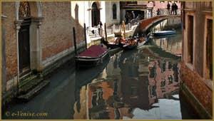Vidéos du sestier de San Marco à Venise.