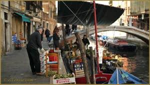 Vidéos du sestier du Dorsdoduro à Venise.