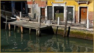 Vidéos du sestier du Cannaregio à Venise.