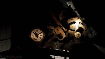 La chambre de l'horloge du Campanile de Santa Maria Formosa, dans le Sestier du Castello à Venise.