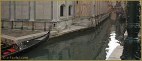 L'église et le rio de Santa Maria dei Miracoli, dans le Sestier du Cannaregio à Venise