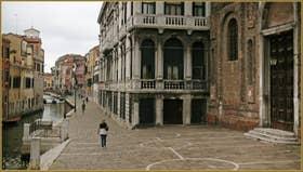 Le Campo, la Fondamenta et le rio de la Misericordia, dans le Sestier du Cannaregio à Venise