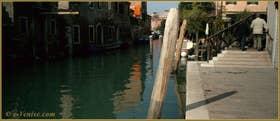 Le rio de la Sensa et le pont dei Muti, dans le Sestier du Cannaregio à Venise