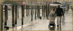 La Fondamenta San Simeon Picolo, le long du Grand Canal, dans le Sestier de Santa Croce à Venise