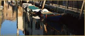 La Fondamenta Tron et le rio de le Terese, dans le Sestier du Dorsoduro à Venise