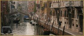 Le rio de Santa Caterina et la Fondamenta Zen, dans le Sestier du Cannaregio à Venise