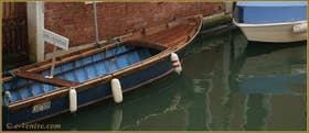 Sanpierota à vendre sur le rio de Santa Caterina, dans le Sestier du Cannaregio à Venise