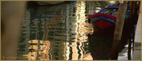Reflets sur le rio de Santa Fosca, dans le Sestier du Cannaregio à Venise