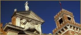 L'Arsenal de Venise, dans le Sestier du Castello