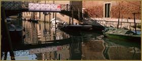 Le pont et le rio de la Tana, le long de l'Arsenal, dans le Sestier du Castello à Venise.