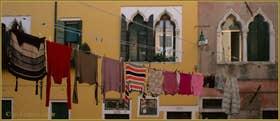 Lessive, Corte Prima Coltrera, dans le Sestier du Castello à Venise