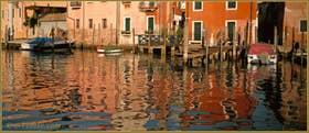 Reflets sur le Canal di San Pietro du Castello à Venise