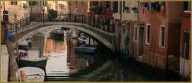Le pont dei Mori, sur le rio de la Sensa, dans le Sestier du Cannaregio à Venise