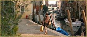 La Fondamenta dei Mori, le long du rio de la Sensa, dans le Sestier du Cannaregio à Venise