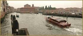 La pluie, Sacca de la Misericordia, dans le Sestier du Cannaregio à Venise