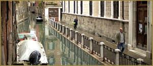 Le rio de la Panada et la Fondamenta Giacinto Gallina, dans le Sestier du Cannaregio à Venise.