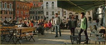 Vendredi 2 novembre, un jour après l'acqua alta exceptionnelle, aucune trace : Pont del Piovan, dans le Sestier du Cannaregio à Venise.