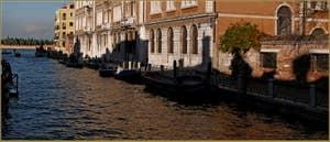 Le rio et la Fondamenta Santa Giustina, dans le Sestier du Castello à Venise.