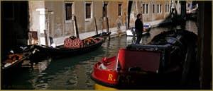 Le rio de la Fava, dans le Sestier du Castello à Venise.
