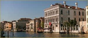 Le palazzo Loredan Vendramin Calergi sur le Grand Canal, là où est mort Richard Wagner, dans le Sestier du Cannaregio à Venise.