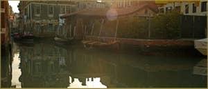 Le rio dei Servi, vu depuis la Fondamenta de la Misericordia, dans le Sestier du Cannaregio à Venise.