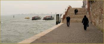 Le pont Dona' sur les Fondamente Nove, dans le Sestier du Cannaregio à Venise.