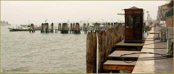 La pompe à essence pour les bateaux des Fondamente Nove, dans le Sestier du Cannaregio à Venise.