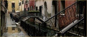 La Fondamenta del Remedio, sur le rio de San Zaninovo, dans le Sestier du Castello à Venise.