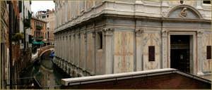 L'église Santa Maria dei Miracoli, dans le Sestier du Cannaregio à Venise.