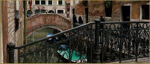 Le rio de la Panada et la Fondamenta de le Erbe, dans le Sestier du Cannaregio à Venise.