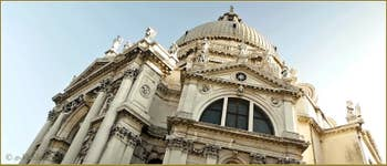 L'église de la Madonna de la Salute à Venise.