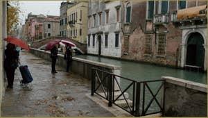 Le rio et la Fondamenta Santa Caterina, dans le Sestier du Cannaregio à Venise.
