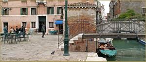 Le Campo San Cassan, dans le Sestier de San Polo à Venise.