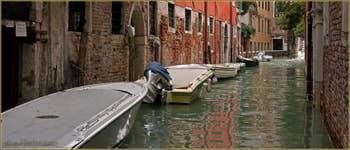 Le rio dei Meloni, dans le Sestier de San Polo à Venise.