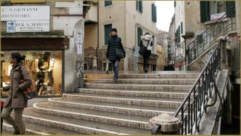 Le pont San Giovanni Grisostomo