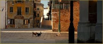 l'Orio et le pont Ruga Bella, dans le Sestier de Santa Croce à Venise.