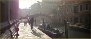 Le rio et la Fondamenta dei Mendicanti, dans le Sestier du Castello à Venise.