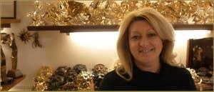 Nicoletta, Fonderie d'Art Valese, à San Marco à Venise.