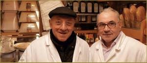 Ernesto Ortis, Fromages et Charcuteries, dans le Sestier du Castello à Venise.