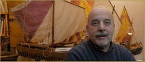 Gilberto Penzo, Maquettes de bateaux traditionnels vénitiens, Calle seconda dei Saoneri, dans le Sestier de San Polo à Venise.