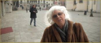 Lucy Mainardi, une vraie Vénitienne qui aime le Spritz, mais avec modération, un par jour !