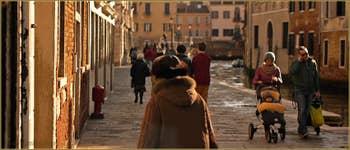 La Fondamenta de la Misericordia, dans le Sestier du Cannaregio à Venise.