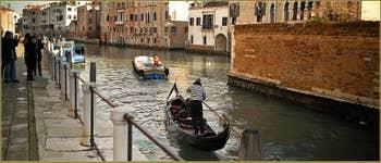 Le canal de la Misericordia, dans le Sestier du Cannaregio à Venise.
