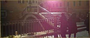 Le pont de la Misericordia, dans le Sestier du Cannaregio à Venise.