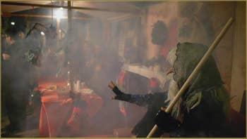 La Fête de la Befana, Salizada San Francesco, dans le Sestier du Castello à Venise.