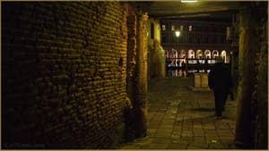 Le Campiello del Remer et le Grand Canal, dans le Sestier du Cannaregio à Venise.