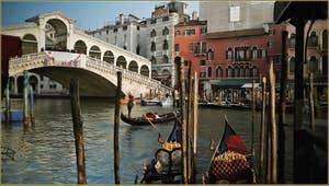 Le pont du Rialto à Venise.