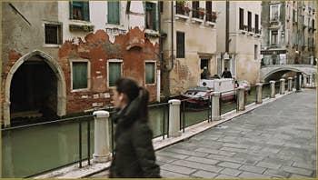 Fondamenta de la Chiesa, dans le Sestier du Cannaregio à Venise.