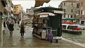 La Fondamenta de Cannaregio à Venise.
